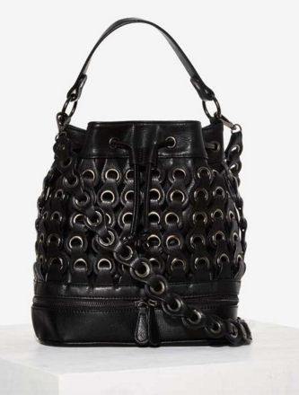 Nila Anthony Rivet or Die Bucket Bag