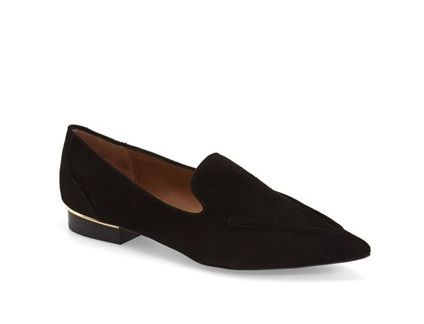 Topshop pointed toe loafer