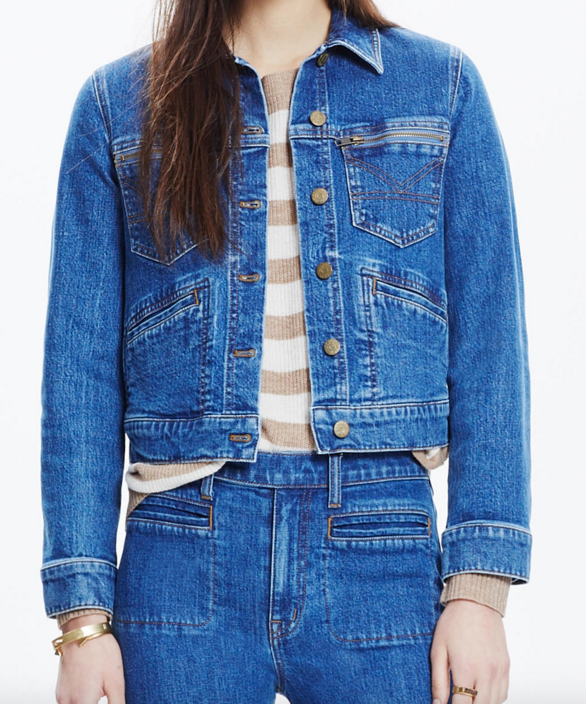 Madewell  x daryl k® jeff jean jacket