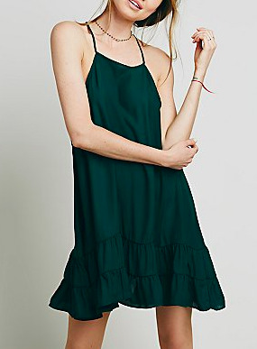 Intimately ruffles slip dress
