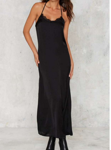 Full Force maxi slip dress