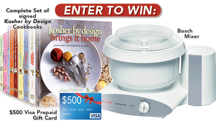Kosher By Design Brings it home Giveaway