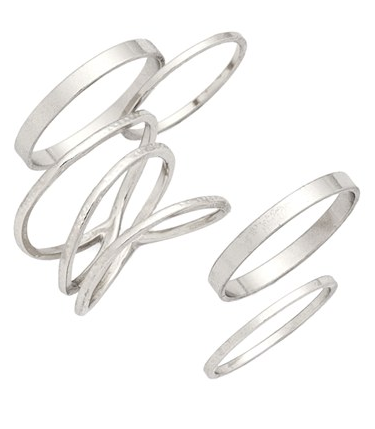 BP stackable rings