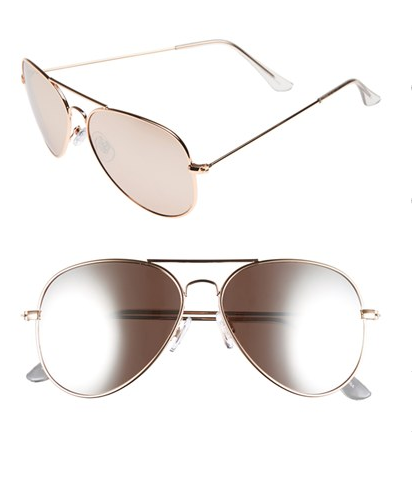 BP mirrored aviators