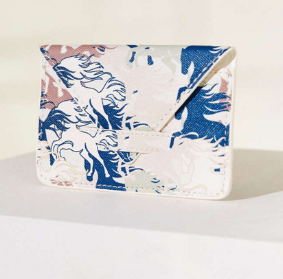 UO printed card holder