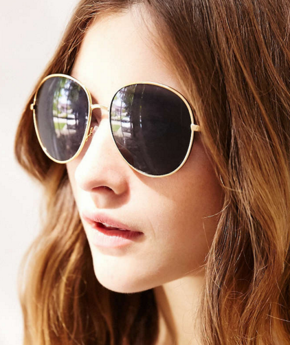 Uo round sunglasses