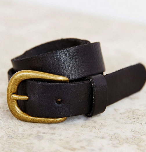 BDG leather belt