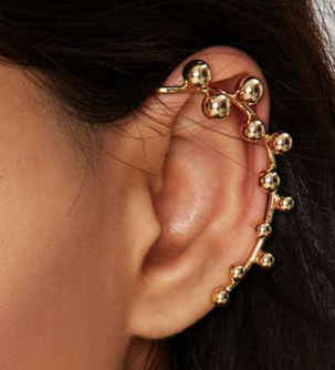 Nasty Gal cold ear cuff