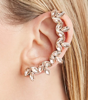 Forever 21 pink ear cuff