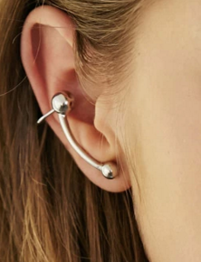 Forever 21 bauble ear cuff