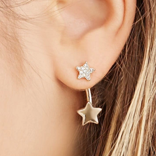 Forever 21 star ear jacket