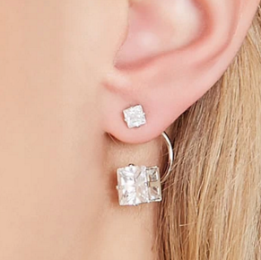 Forever 21 diamond ear jacket