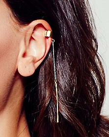 Free People chain ear cuff
