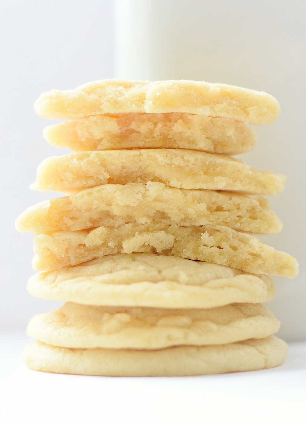 No-ButterNo-Butter Soft Lemon Cookies: soft, chewy, easy cookies full of fresh lemon flavor. So rich and gooey from the coconut oil! | TrufflesandTrends.com Lemon Cookies ? soft, chewy, easy cookies full of fresh lemon flavor. So rich and gooey from the coconut oil! | TrufflesandTrends.com