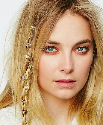 Regal Rose Hair Bead Clickers