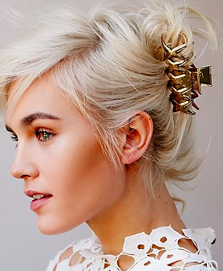 FP geo cutout hair clip