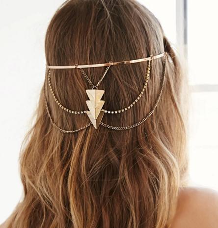 Forever 21 Triangle Pendant Headband