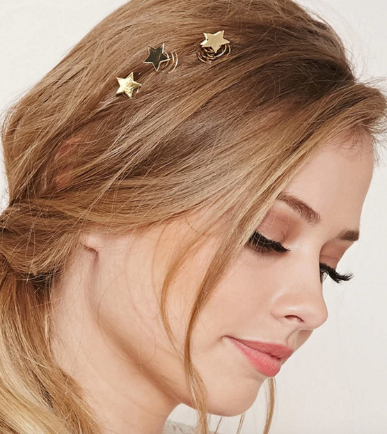 Forever 21 star hair pins