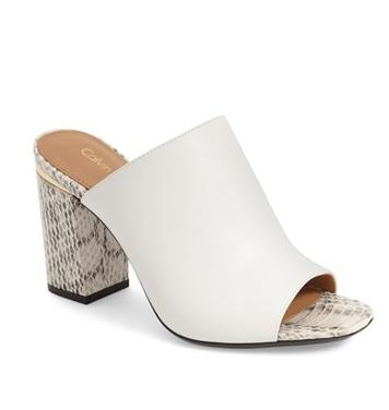Calvin Klein 'Cice' Mule Sandal