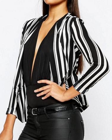 Lipsy striped blazer