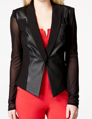 Material Girl Juniors Jacket Blazer