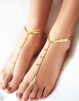 FP Rose Drops Anklet