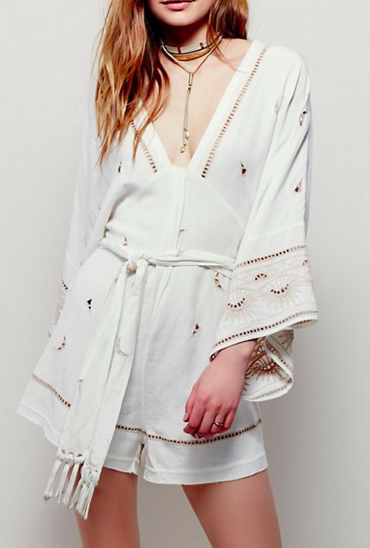 Free People New Romantics Romper