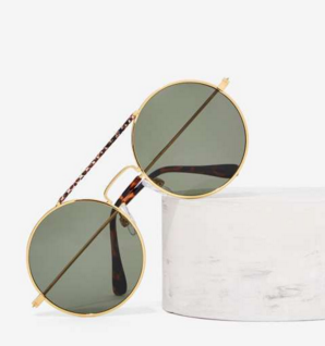 Snake the Bar Aviator Shades