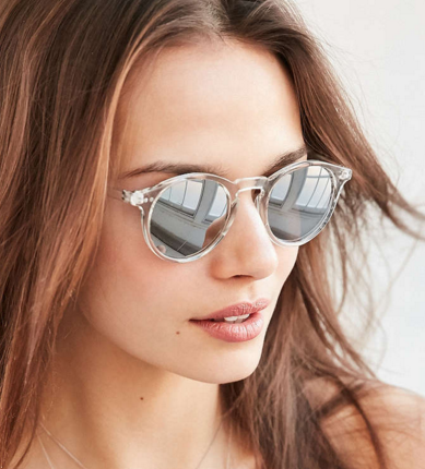 Uo clear sky sunglasses