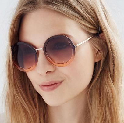 Maxine Round Sunglasses