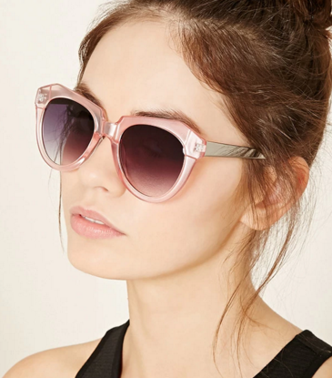 Forever 21 angular cat eye sunglasses