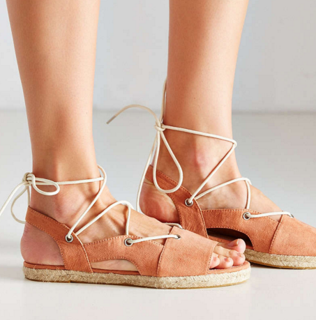 Anabelle Espadrille Lace-Up Sandal