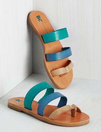 BC Footwear 'Peanut' Slide Sandal