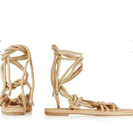 Topshop fabric sandals