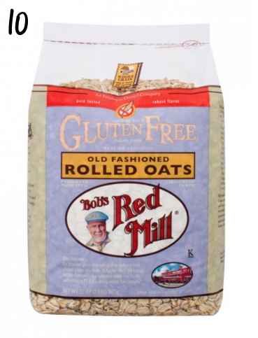 Bobs Red Mill gluten-free rolled oats