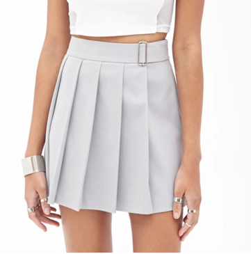 Forever 21 mini pleated skirt