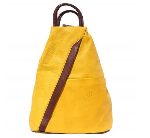 LaGaksta Submedium Italian Leather Backpack