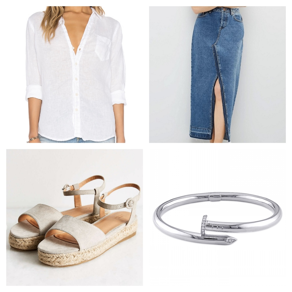 Simple Summer Outfit Ideas | TrufflesandTrends.com