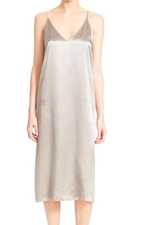 ATM Anthony Thomas Melillo V-Neck Satin Slipdress