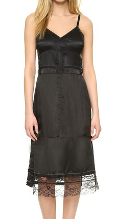 MARC JACOBS Lace Trim Slipdress