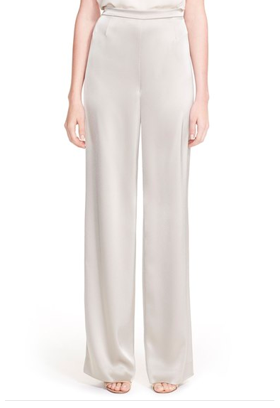 St. John Collection 'Kate' Liquid Satin Pants