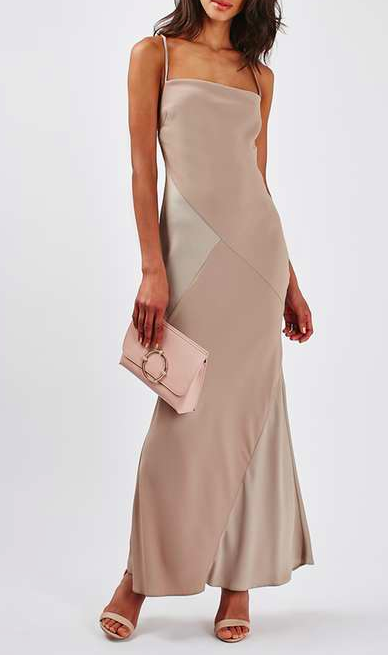 Topshop maxi slip dress