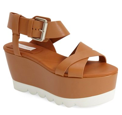 See by Chloé Platform Wedge Sandal