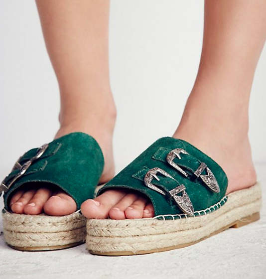 Free Flying Espadrille Sandal