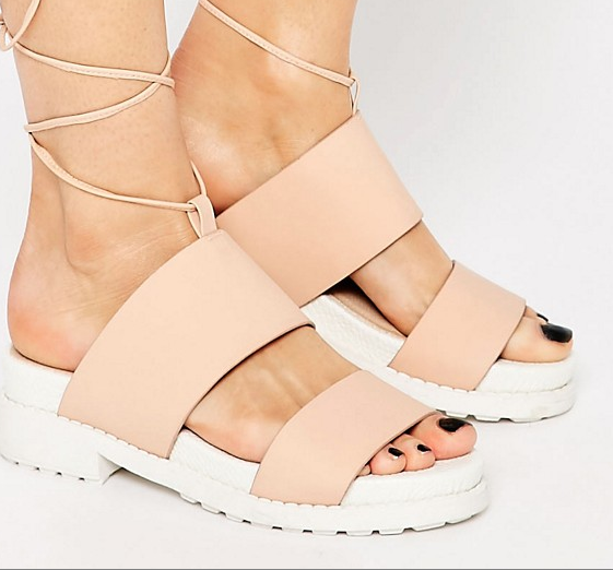 Asos fletch fly flatforms