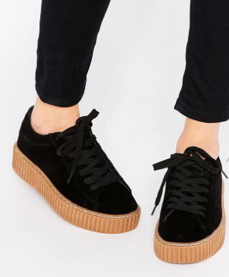 Truffle Collection Flatform Creeper Sneakers