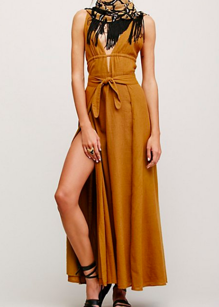 FP MIDNIGHT SUN MAXI DRESS