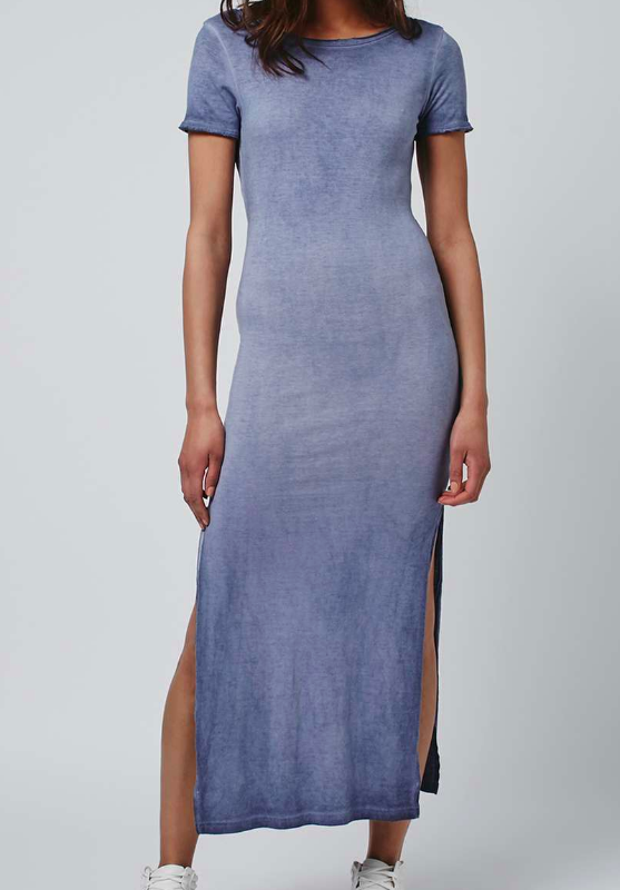 TOPSHOP Twist Back Dress