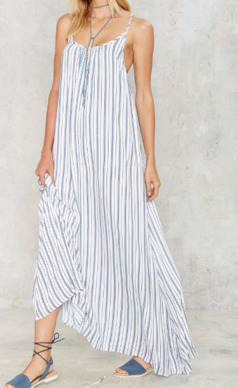 Nasty Gal Doheny Maxi Dress