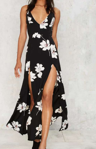 Pick Me Up Slit Dress